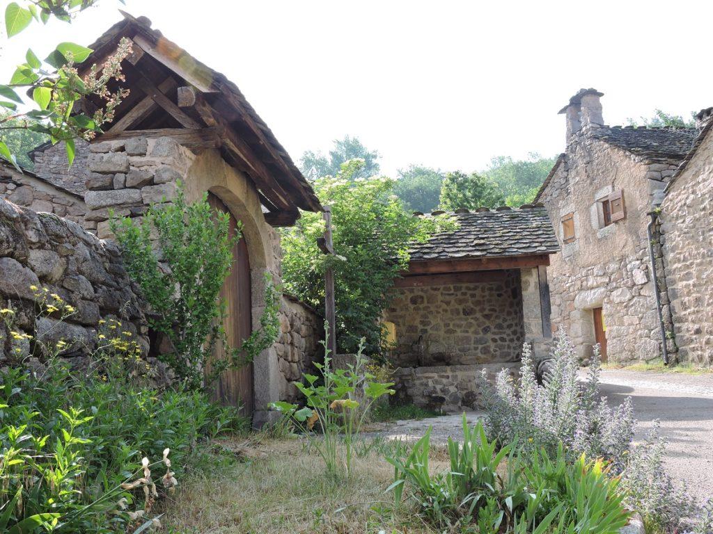 Le coeur du hameau de Nozieres