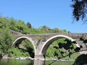 Le pont d'Ispagnac