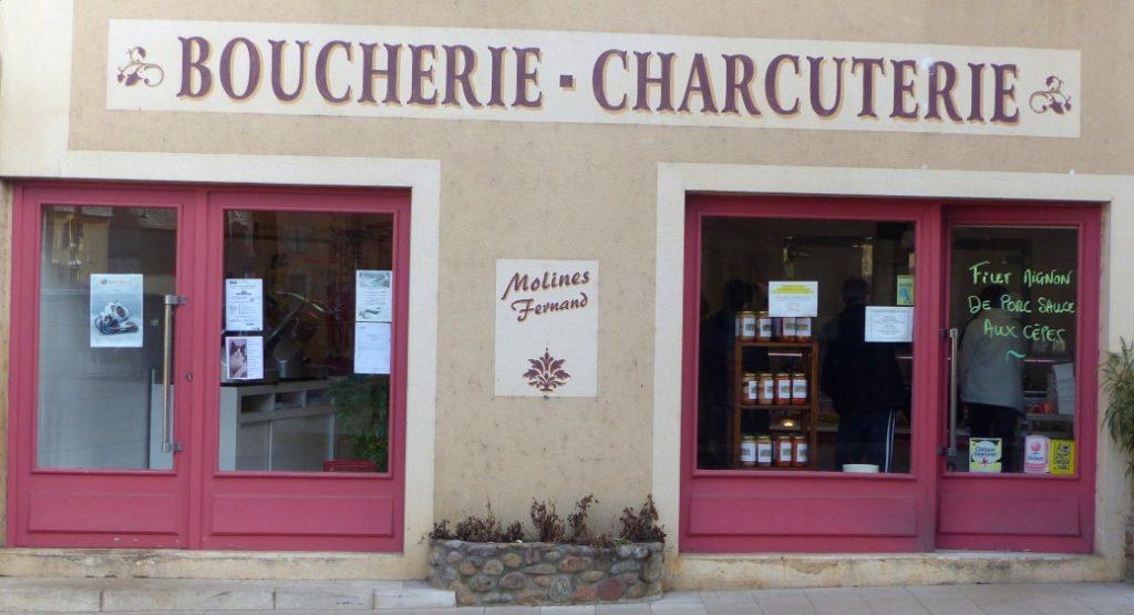 Boucherie facade