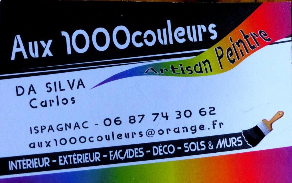 Carte 1000 couleurs